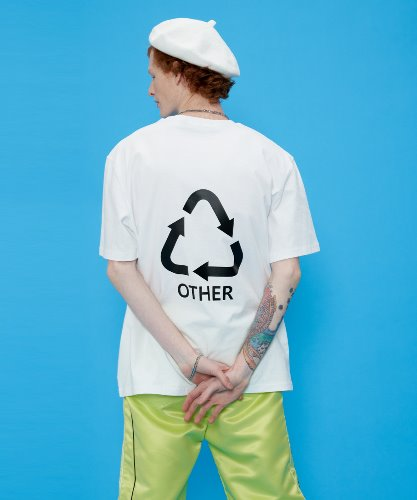 OTHER-Logo T-shirt [White]